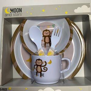 3/$20🌵Baby 5pc dinnerware set